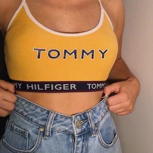 Tommy Hilfiger Cropped Tank Top